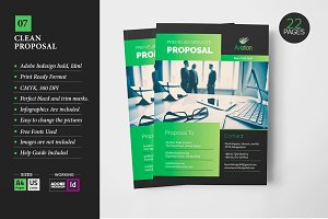 Clean Business Proposal Template 07
