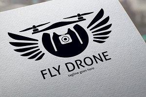 Fly Drone Logo