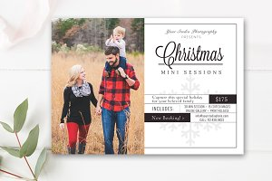Christmas Mini Session Board
