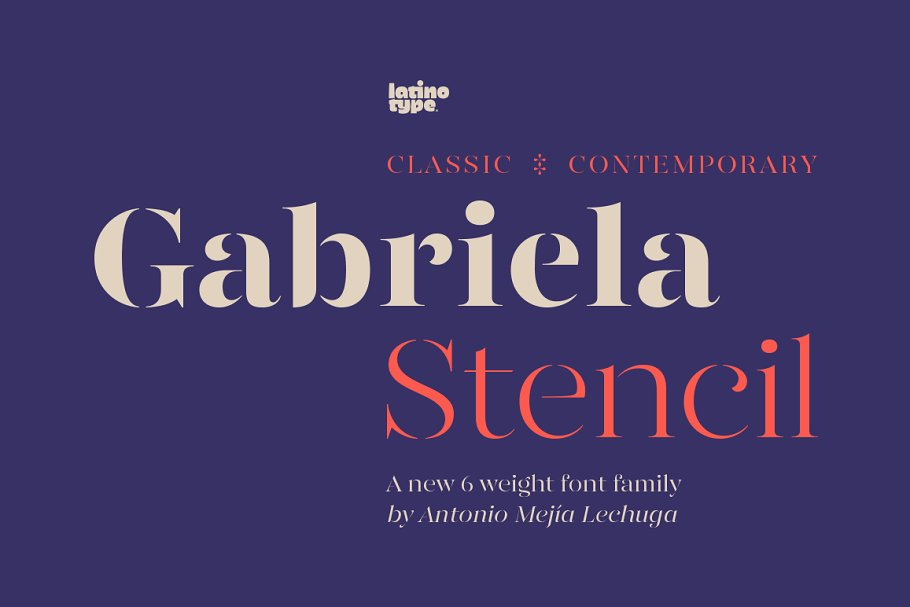 Gabriela Stencil