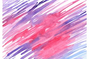 Watercolor blue pink violet texture
