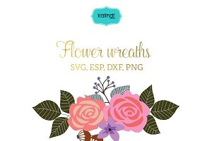 Flower bouquet vector clipart FLWR10