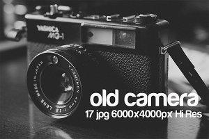 vintage camera pack