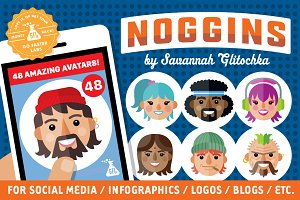 Noggins Avatar Pack