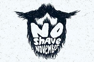 No Shave November beard