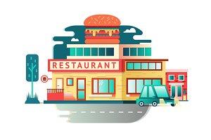 Restaurant building