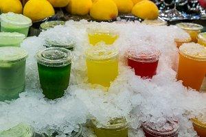 juice on ice