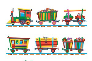 Railroad traffic way vector