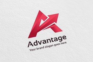 Advantage- Letter A Logo