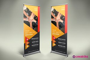 Business Roll Up Banner - v018