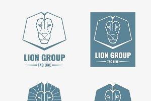 Lion modern vector logos