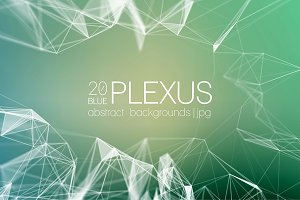 Abstract Background | Blue Plexus