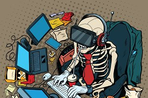 skeleton programmer virtual reality