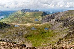 Landscape in Snowdonia, Wales