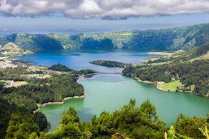 Sete Cidades Volcano in Azores
