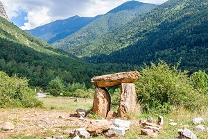 Dolmen in the Pyrenees