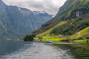 Fjord Banks in Norway