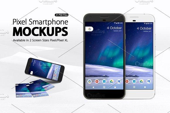 Download Pixel Smartphone Mockups