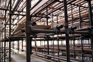 Industrial Shelves Storage Room