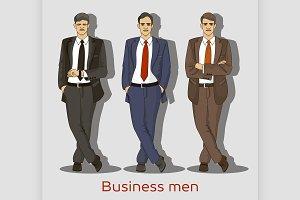 Business men set