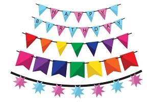 Birthday decorations set