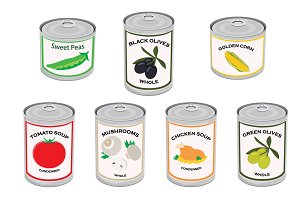 Canned food set 50% OFF