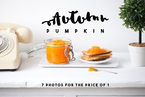 Autumn Pumpkin Photos
