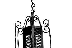 iron lamppost
