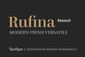 Rufina Stencil 80% Off