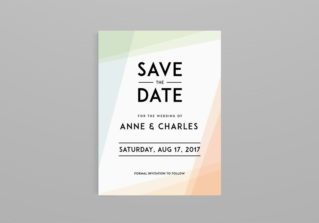 Save the Date ~ Invitation Templates ~ Creative Market