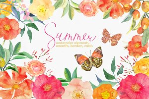 Summer in watercolor