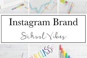 Instagram Brand|School Vibes