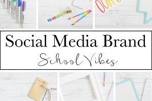 Social Media Brand|School Vibes