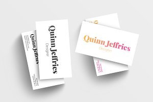 Simple Modern Business Card 019
