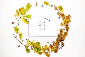 Autumn Inspired iPad Mockup