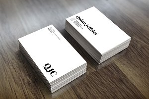 Classic Business Card Design 018