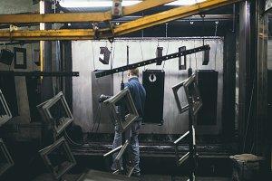 Heavy industry world