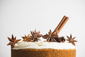Cake with spices