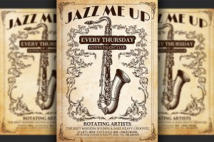 Jazz Poster Flyer Template