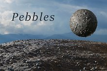 Pebbles tileable texture set by  in Rock