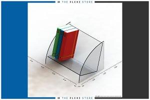 Table Top Book Shelf #01