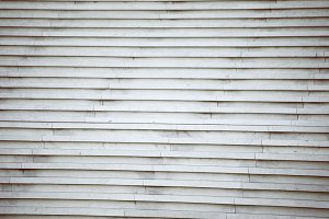 White stairs
