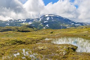 Landscape Panorama in Norway