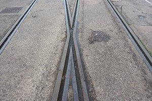 Railway track detail