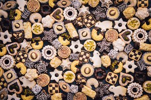 Beautiful handmade Christmas Cookies