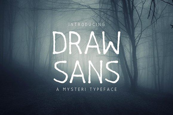 Drawsans Typeface