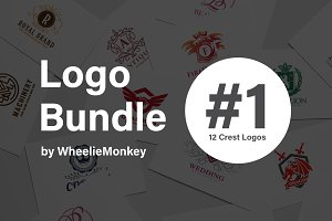 12 Crest Logo Bundle