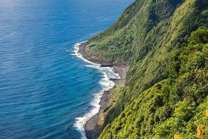 Sao Miguel Coastline, Azores