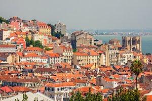 Lisbon Alfama District