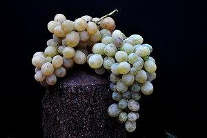 golden grapes bunch